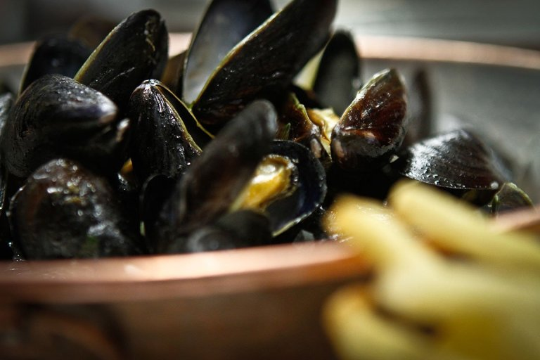mussel at bistro